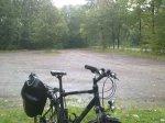 Regenwetter unterwegs nach Wermsdorf