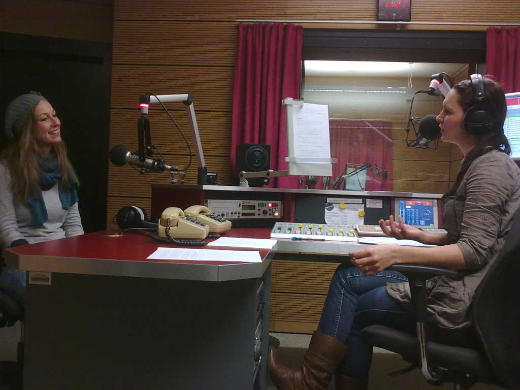 Interview bei Radio Mephisto