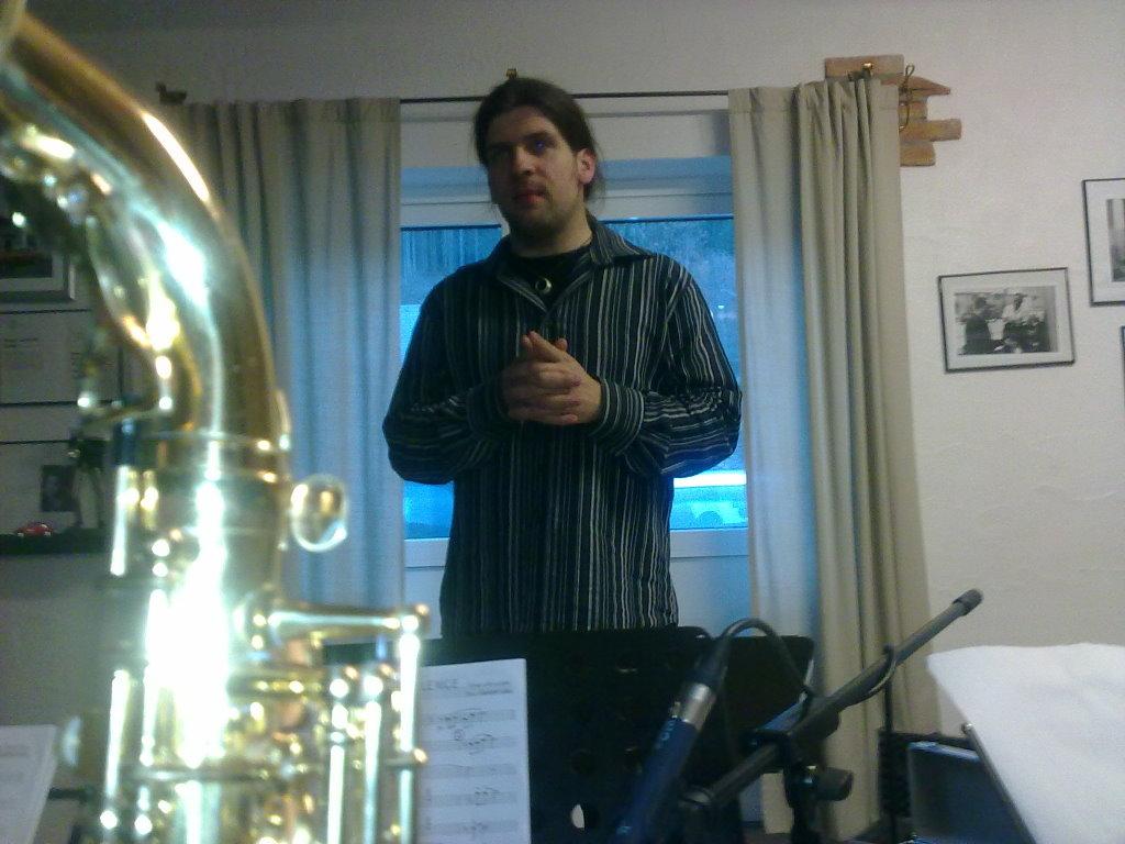 Aufnahme mit Tobias Schütte