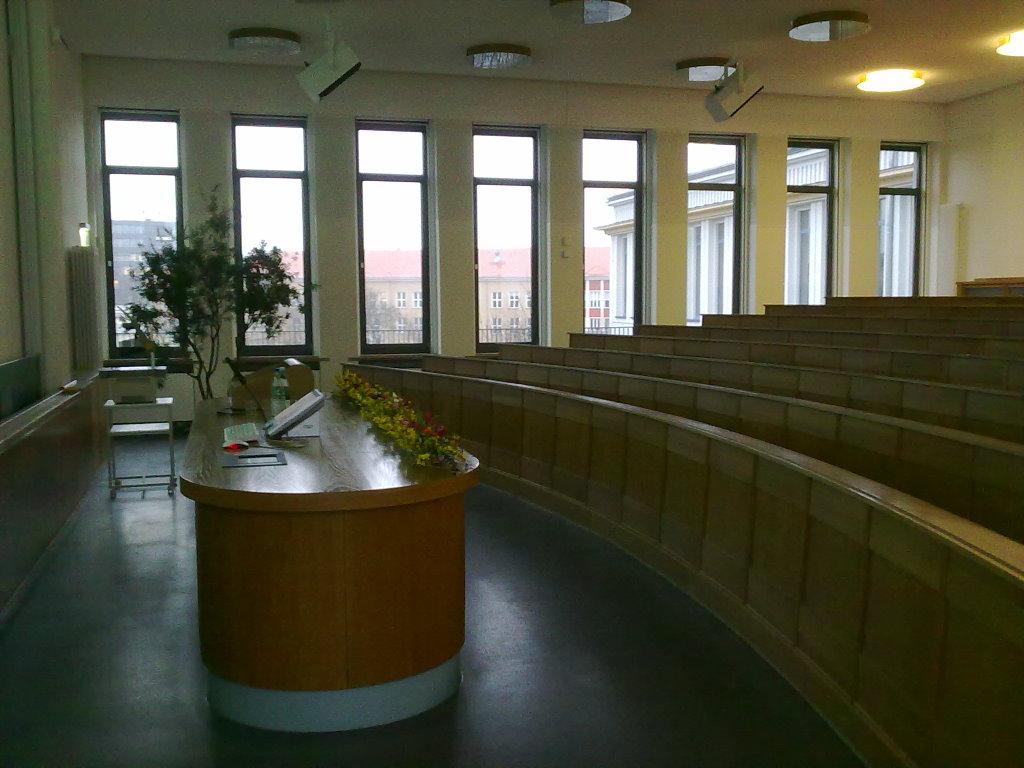 Solo-Gig bei einem Festakt an der Uniklinik Leipzig