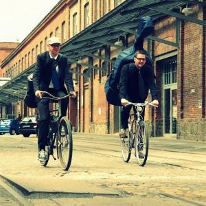 Duo Hey, SieDa! Volker Dahms und Christian Sievert Saxophon  Kontrabass Leipzig