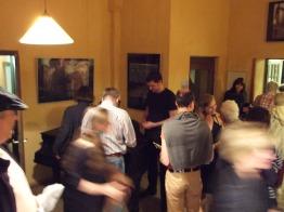 Autogrammstunde nach dem Konzert.