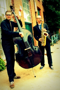Hey, SieDa! - Duo für Kontrabass und Saxophon