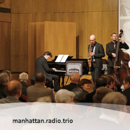 manhattan.radio.trio @ Gewandhaus