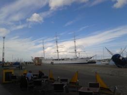 Am Hafen in Stralsund