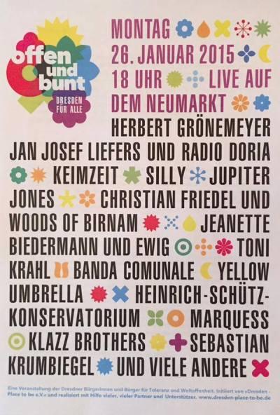 Dresden - offen und bunt