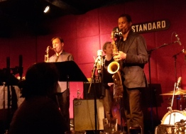 Chris Potter, Ben Street, Mark Turner im JAZZSTANDARD