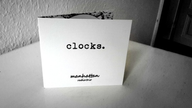 "manhattan.radio.trio ""clocks."" :-)"