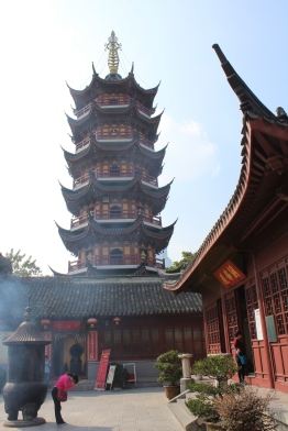 Pagode im Jiming Tempel