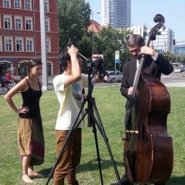 Hey, SieDa! - Duo mit Kontrabass und Saxophon