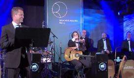Auf der Bühne mit Til Schweiger in Potsdam