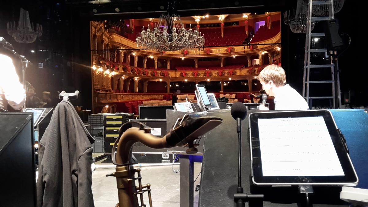 Soundcheck Oper Zürich
