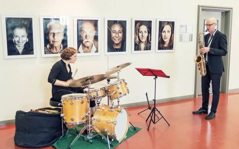 Duo Eva Klesse und Volker Dahms bei WOMEN IN JAZZ