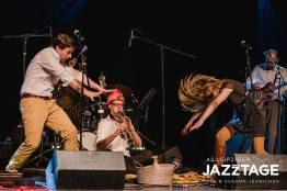 Jolli, Juri und die Jungs, Jazztage Leipzig (c) Jazzclub Leipzig/ Oktober 2018