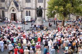 Konzerte am Bachdenkmal/ August 2018