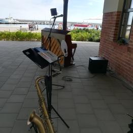 Jorinde Jelen Trio im Hafen Sassnitz